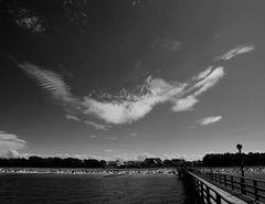 Wolkenkunst über Zingst