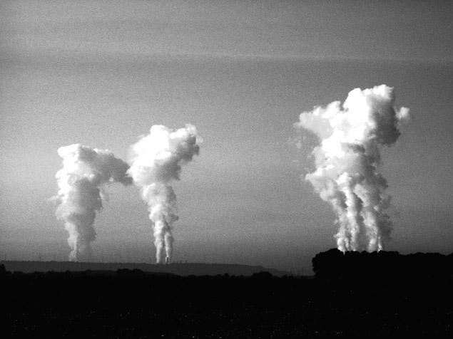 Wolkenlandschaft?