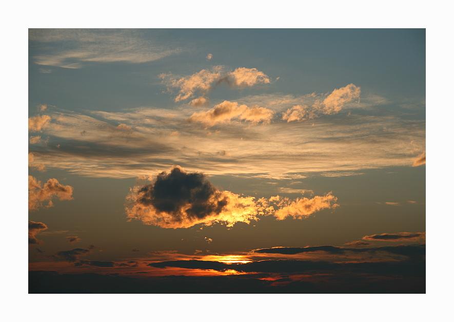 Wolkenleuchten