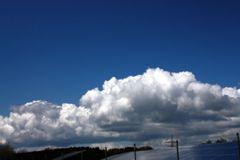 Wolkenmassen rücken näher