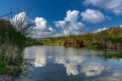 Wolkenspiegelung am Hochablass