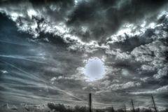 Wolkenspiel am Unterbacher See