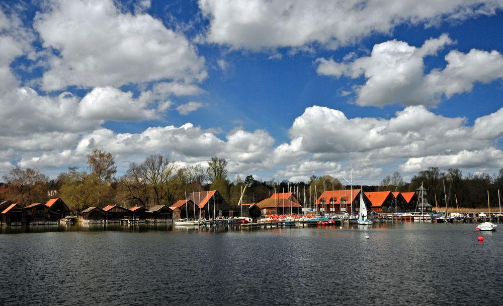 Wolkenspiel in Diessen am Ammersee
