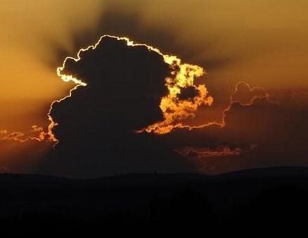 Wolkenspiele in der Schwalm
