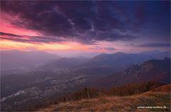 Wolkenstimmung über dem Monte Boglia