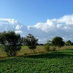 Wolkenstimmung über dem Vorgebirge bei Euskirchen