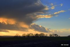 Wolkentürme im November