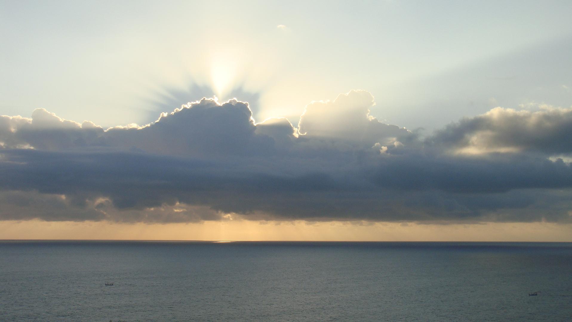 Wolkenuntergang ;-)