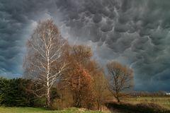 Wolkenverhangen