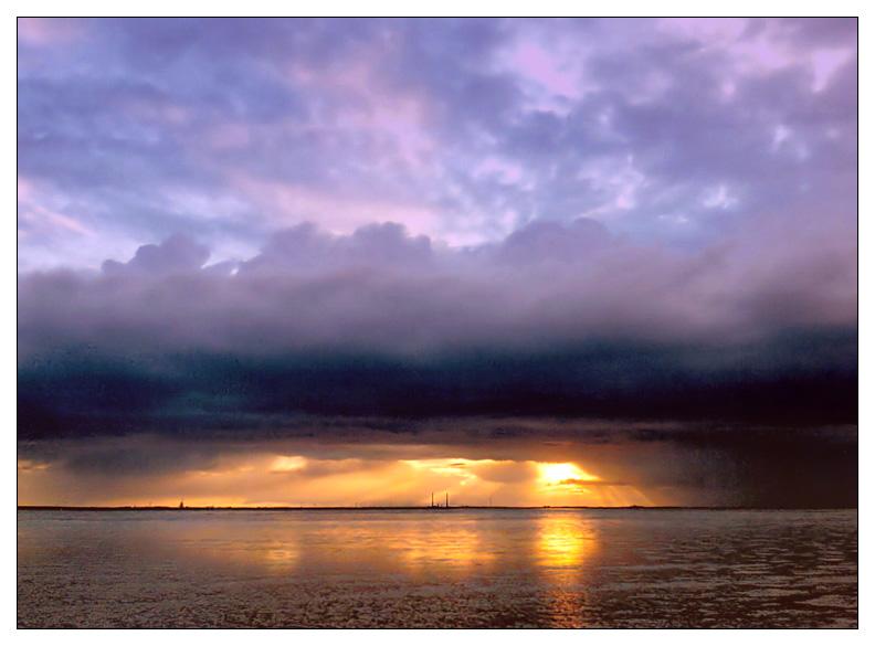 Wolkenverhangen II