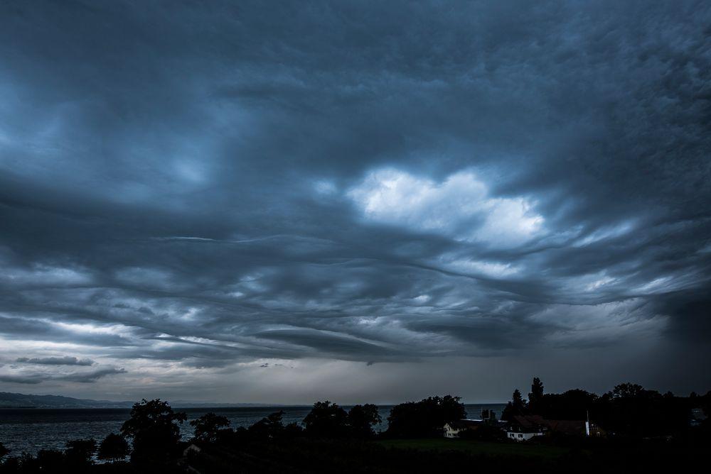 Wolkenwellen