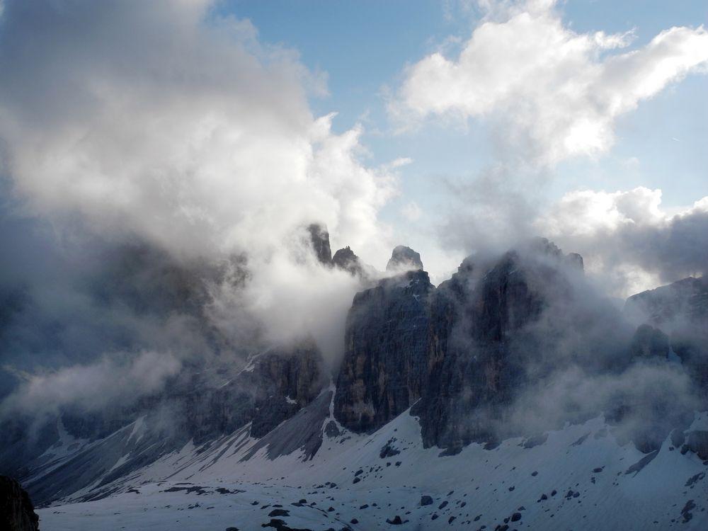 Wolkenzauber der Tofane
