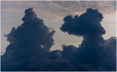wolkiger Abend