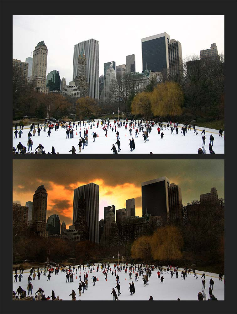 wollman rink - central park - nyc
