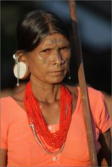 woman from saora tribe