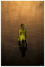 WOMAN IN A POND II