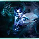 woman in dragon