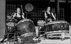 Woman Power on the Taiko Drums