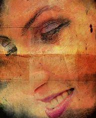 Woman with a warm smile