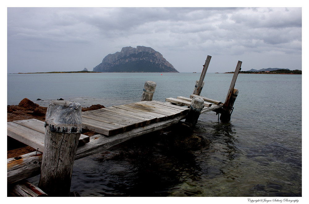 Wooden bridge in Sardegna...