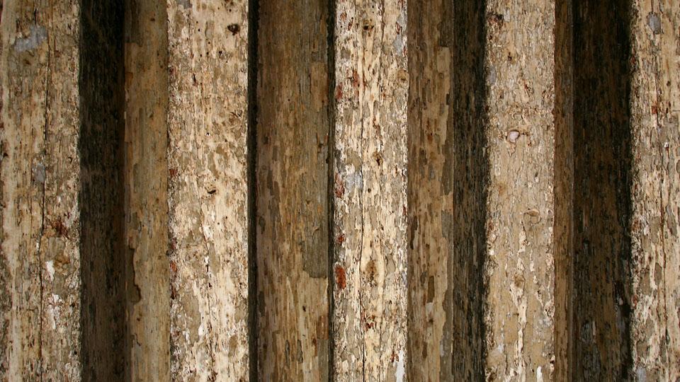 Wooden Floor Beams, Venice / I