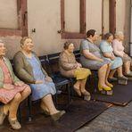 Worauf warten die Damen?