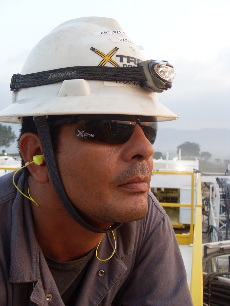 working in the rig 15 xtreme coil drilling
