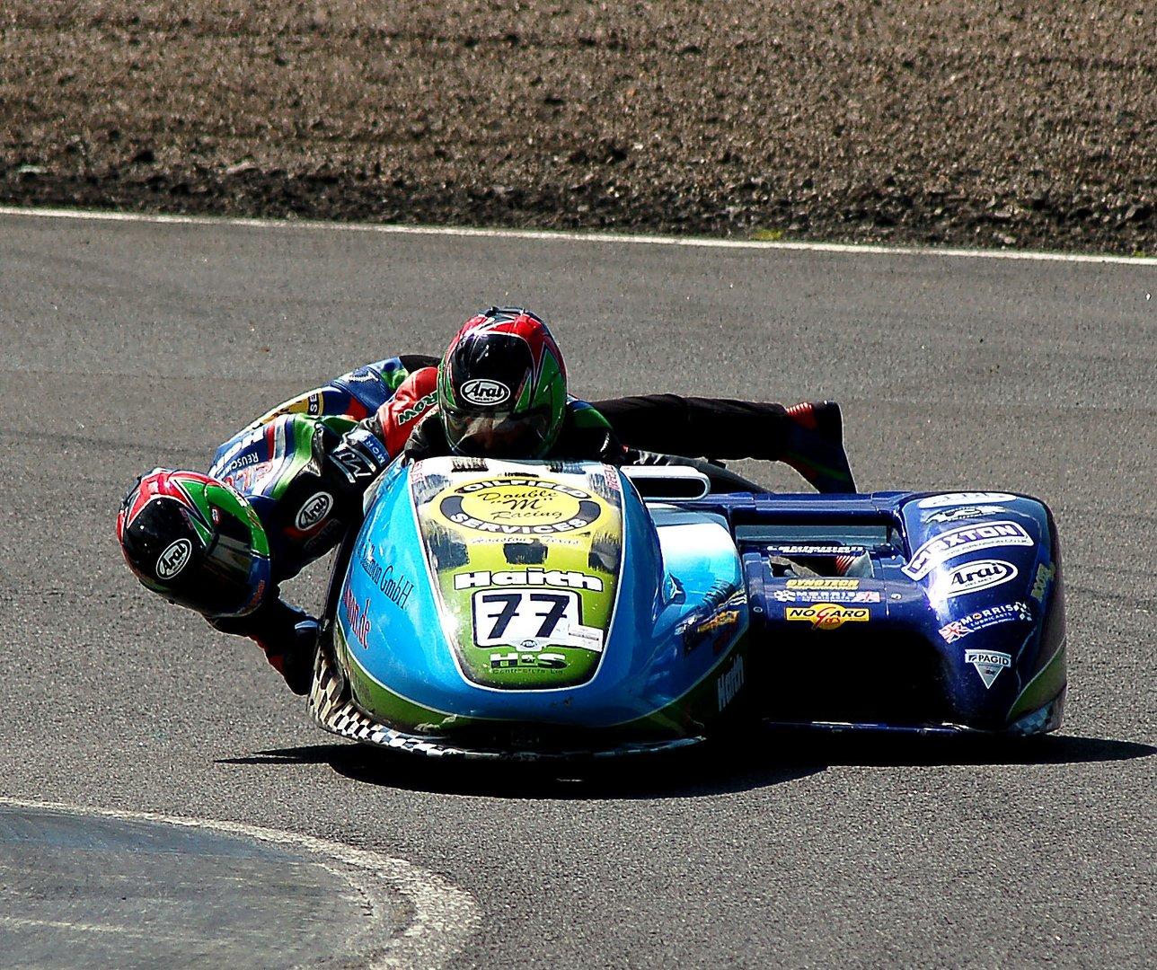 World Champion Sidecar Racer