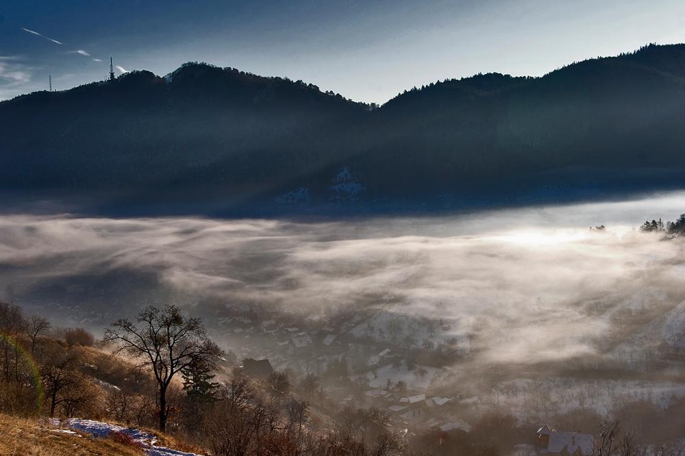 world in fog