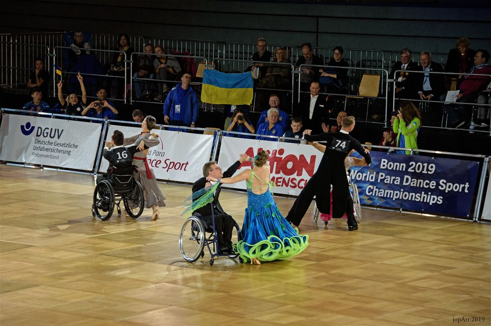 World Para Dance Sport Championships...