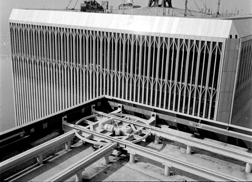 World Trade Center Roof 1976