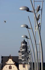 Worms - Neue Rheinbrücke auf dem Weg nach Worms