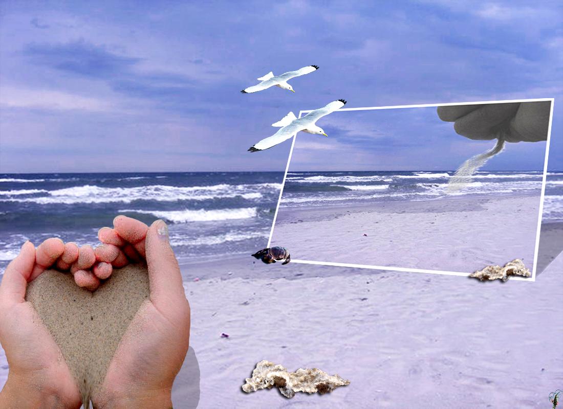 Worte, Sand im Wind...
