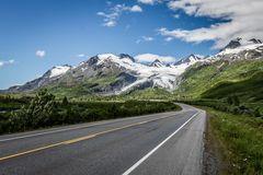 Worthington Gletscher in Alaska