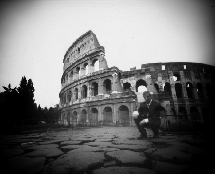 WPPD - Self-portrait at the Colosseum, Rome