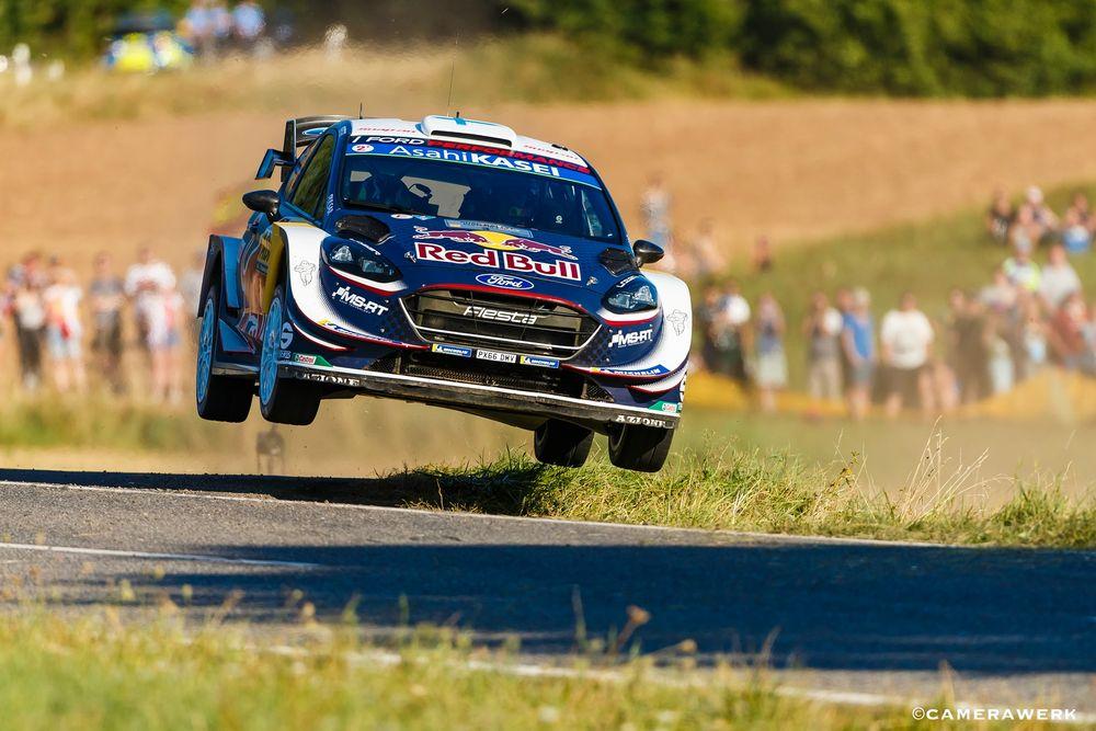 WRC Flugshow
