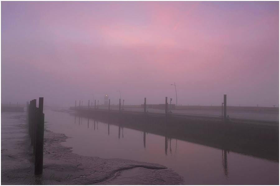 Wremen im Nebel