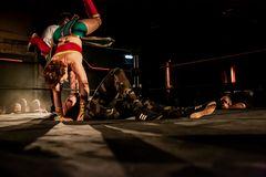 Wrestling im Hafenschuppen 6