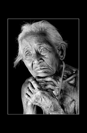 Wrinkled by time