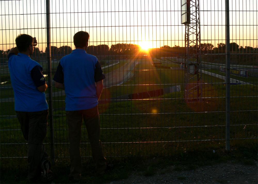 WTCC Oschersleben - Abendstimmung