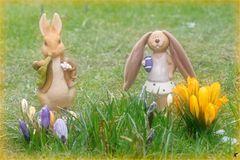 Wünsche allen ein frohes Osterfest