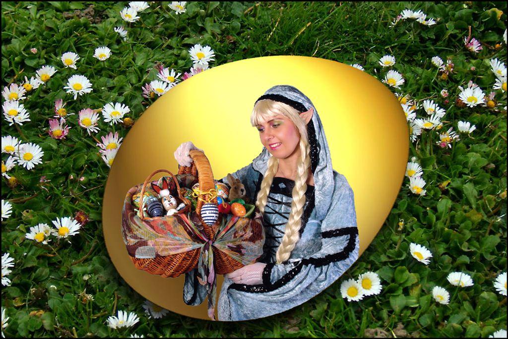 Wünsche allen frohe Ostern...