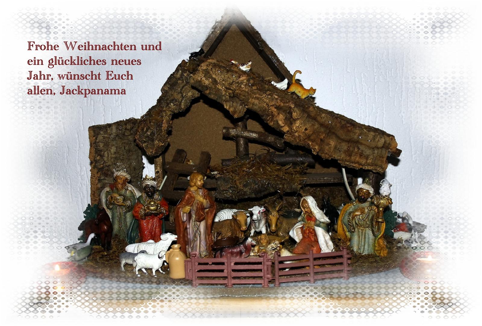 Wünsche allen schöne Weihnachten und einen guten Rutsch ins Neue ...