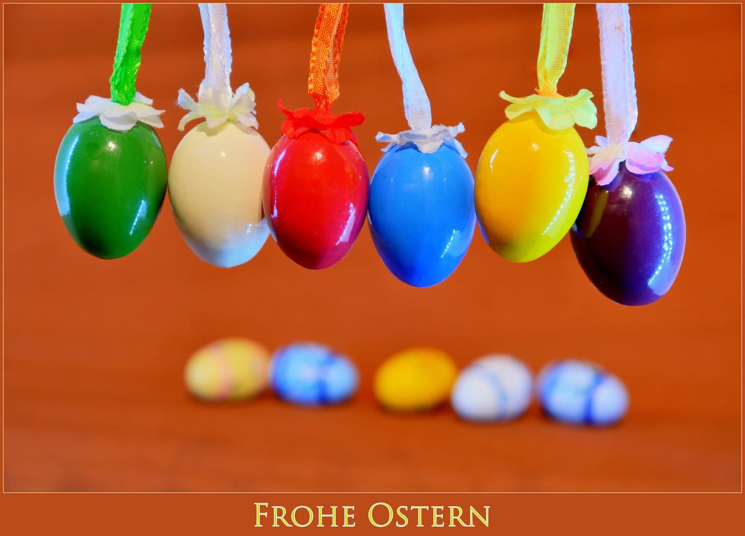 * Wünsche euch allen frohe Ostertage *