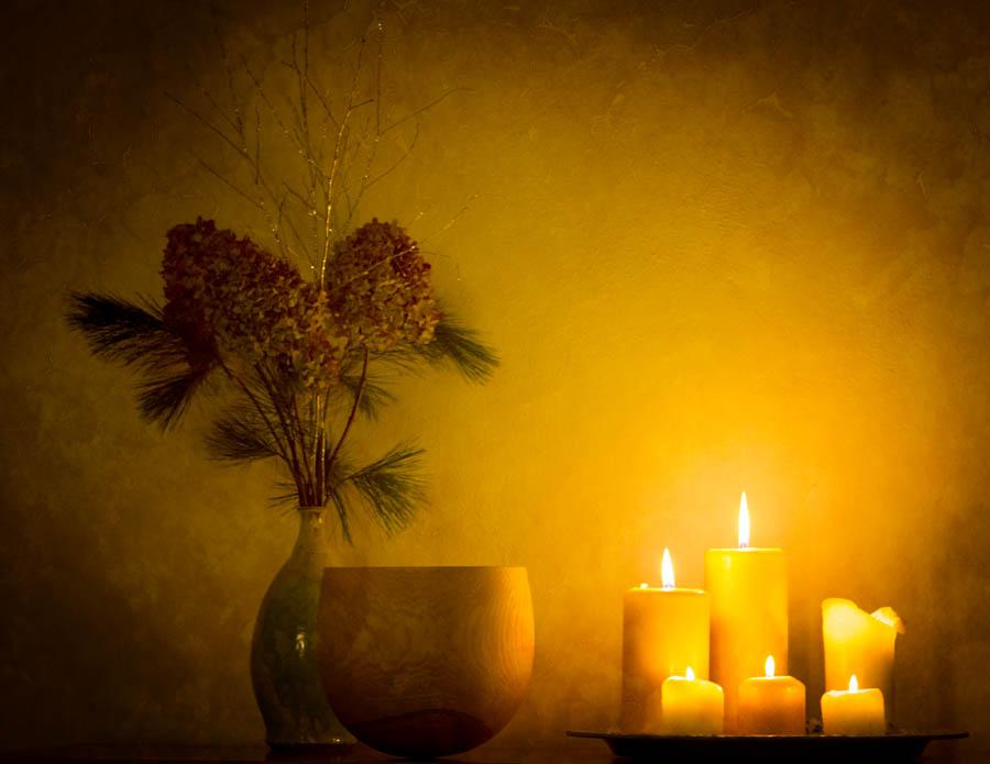 Wünsche Euch viel Licht und Wärme in der Vorweihnachtszeit!