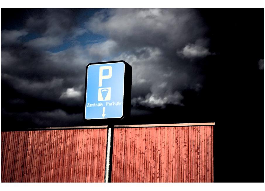 Würdest du hier parkieren?
