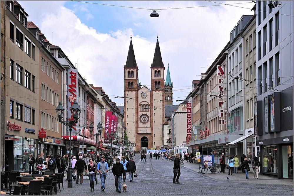 Würzburg - In der Domstraße