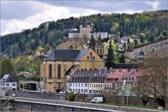 Würzburg - Käpelle und St. Burkhard