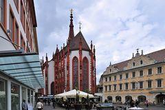 Würzburg - Markt und Marienkapelle