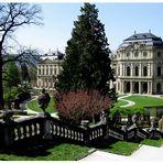 Würzburg: Residenz mit Hofgarten